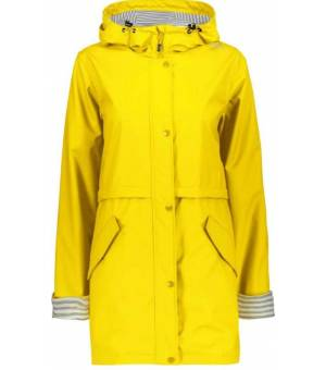 CMP Woman Rain Fix Hood bunda R411 Žltá