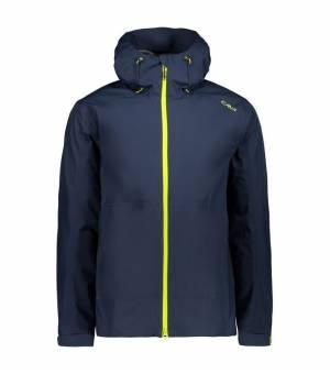 CMP Man Jacket Fix Hood bunda N985 modrá