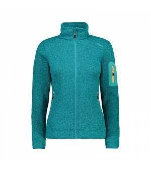 CMP Woman Jacket mikina 12EE zelená