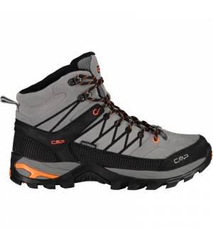 CMP Rigel Mid Trekking Shoe WP 75UE sivé