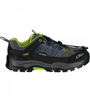 CMP Kids Rigel Low Trekking Shoe WP 35UD sivé