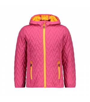 CMP Girl Jacket Fix Hood bunda H620 ružová