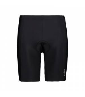 CMP Man Shorts Bike cyklistické nohavice U901 čierne
