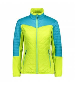CMP Woman Jacket Hybrid bunda R505 zelená