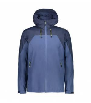 CMP Man Mid Jacket Fix Hood bunda N933 modrá