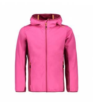 CMP Kid G Jacket Fix Hood bunda H620 ružová