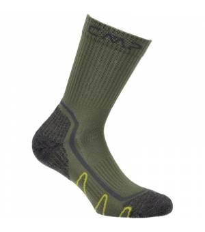 CMP Trekking Sock Poly Mid F812 Avocado ponožky