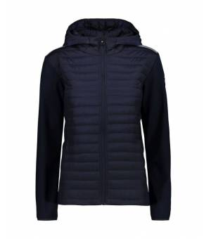 CMP Woman Jacket Fix Hood bunda N943 modrá