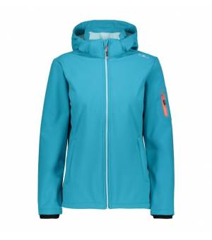 CMP Woman Jacket Zip Hood bunda L609 modrá