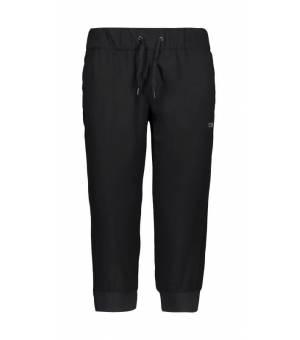 CMP Woman Pant 3/4 nohavice U901 čierne
