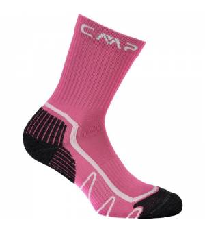 CMP Kids Trekking Sock Poly Mid 26HC Geraneo-Bianco ponožky