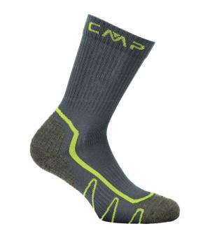 CMP Kids Trekking Sock Poly Mid U940 Jungle ponožky