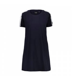 CMP Woman Dress šaty N943 tmavomodré