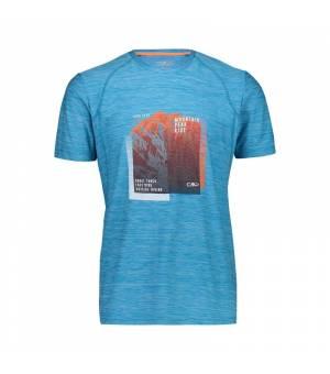 CMP Man T-Shirt tričko L779 modré