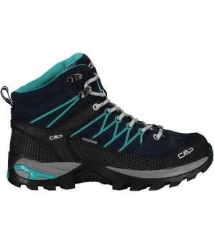 CMP Rigel Mid WMN Trekking Shoe WP 06ME Blue-Ceramic