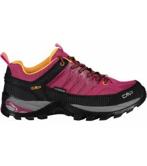CMP Rigel Low WMN Trekking Shoe WP 06HE Bouganville-Goji