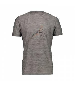 CMP Man T-Shirt tričko 52UE sivé