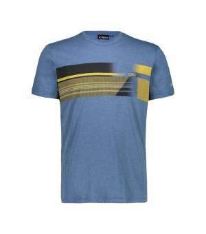 CMP Man T-Shirt tričko N820 modré