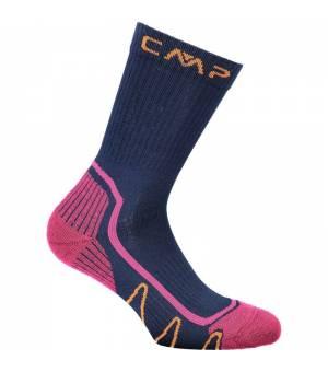 CMP Kids Trekking Sock Poly Mid M926 Blue ponožky