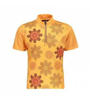 CMP Kids Freebike T-Shirt tričko C667 oranžové