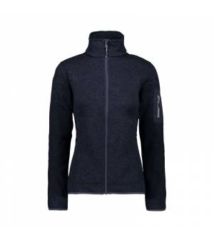 CMP Woman Fix Hood Jacket Black Blue Grey mikina