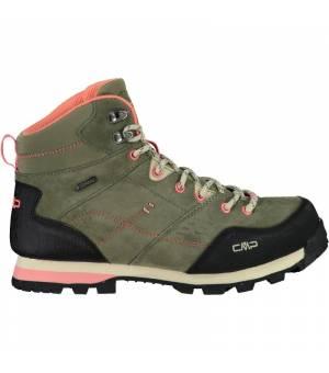 CMP Alcor Mid Wmn Trekking Shoe WP Kaki Obuv