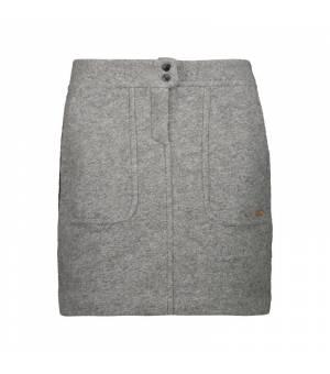 CMP Woman Skirt Grigio Melange sukňa