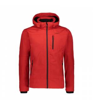CMP Man Zip Hood Jacket Ferrari - Nero bunda