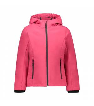 CMP Kid G Fix Hood Jacket Carmino - Magenta bunda