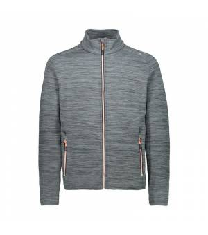 CMP Man Jacket Graffite Melange mikina