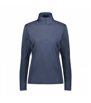CMP Woman Sweat Black Blue mikina