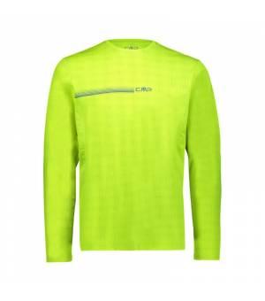 CMP Man T-Shirt Yellow Fluo tričko