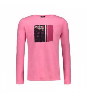 CMP Kid G T-Shirt Pink Fluo tričko