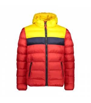 CMP Man Jacket Fix Hood Papavero bunda