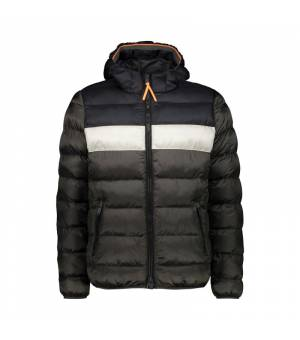 CMP Man Jacket Fix Hood Dust bunda