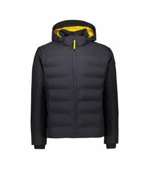 CMP Man Jacket Zip Hood Antracite bunda
