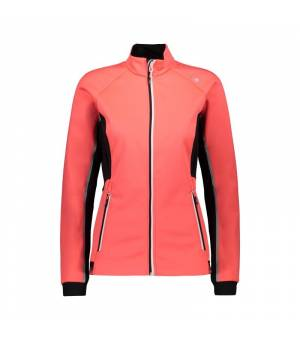 CMP Woman Jacket Red Fluo bunda