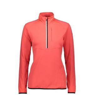 CMP Woman Sweat Red Fluo mikina