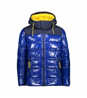 CMP Man Jacket Fix Hood Cobalto bunda