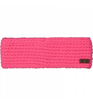 CMP Woman Knitted Headband Pink Fluo Čelenka