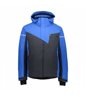 CMP Man Jacket Zip Hood Antracite bunda