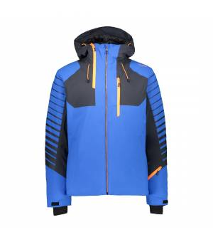 CMP Man Jacket Fix Hood Royal bunda