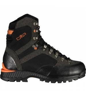 CMP ST 4000 Trekking Shoe WP Nero Orange Obuv