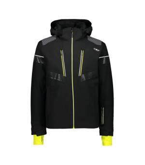 CMP Man Jacket Zip Hood Nero Bunda