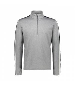 CMP Man Sweat Grey Mel Mikina