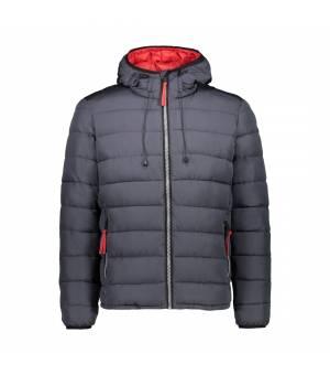 CMP Man Jacket Fix Hood Antracite Bunda
