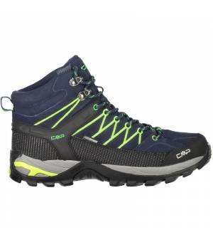 CMP Rigel Mid Trekking Shoe WP Blue Obuv