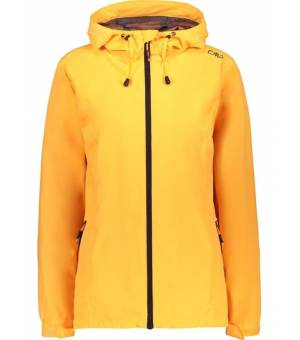 CMP Woman Rain Jacket Fix Hood Bunda C667 Žltá