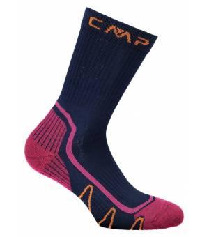 CMP Kids Trekking Sock Poly Ponožky Mid M926 Modré