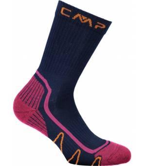 CMP Trekking Sock Poly Mid M926 Ponožky Modré